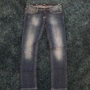 Express REROCK skinny jeans size 6S